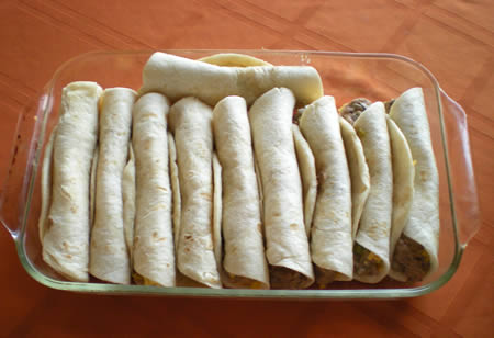 Breakfast burritos change of state