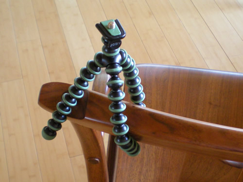 I'm excited about my new Gorillapod.  You may never see a photo of it again, but it will have a presence here.