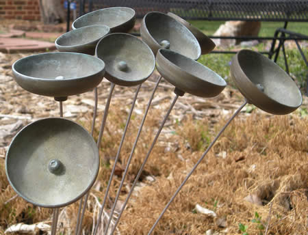 Bells in the Audio-Reader sensory garden