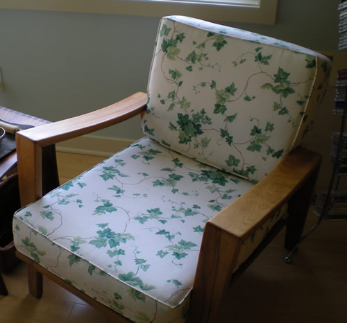 My mother had this chair at college. I've always been very fond of it and I'm happy to have it in my office.
