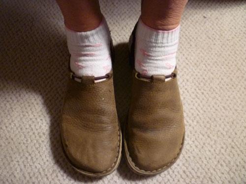 Barb's Feet