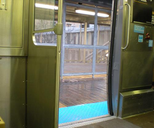 Doors open on the El