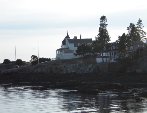 House on Maine coast