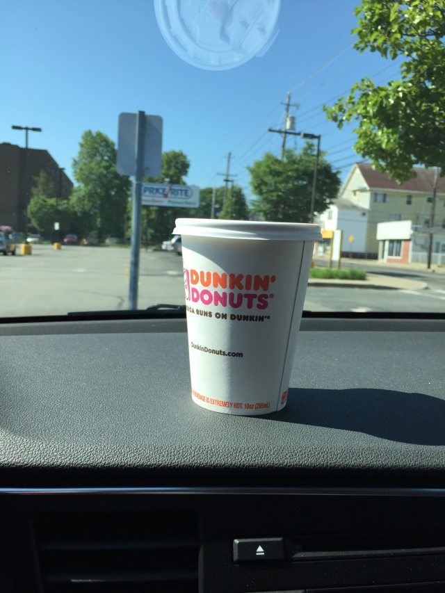 Dunkin Donuts coffee cup